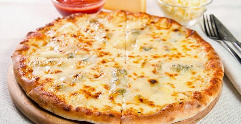 pizza recette pizza quatre fromages apprendre des recettes de cuisine et de pain. Black Bedroom Furniture Sets. Home Design Ideas