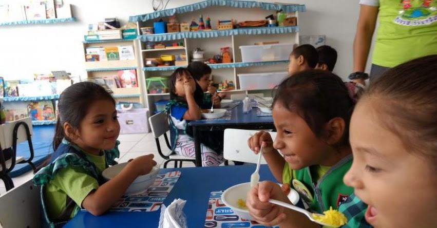 QALI WARMA: Desayunos nutritivos y variados consumen escolares de Rayitos de Sol y Luna en La Libertad - www.qaliwarma.gob.pe