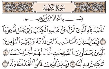 Tafsir Surat Al-kahfi Ayat 1, 2, 3, 4, 5