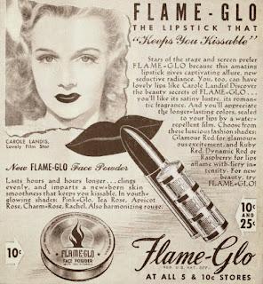 Carole Landis Flame-Glo