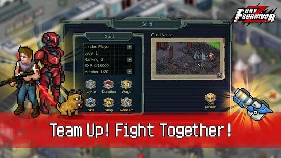 Fury Survivor: Pixel Z Apk+Data Free on Android Game Download