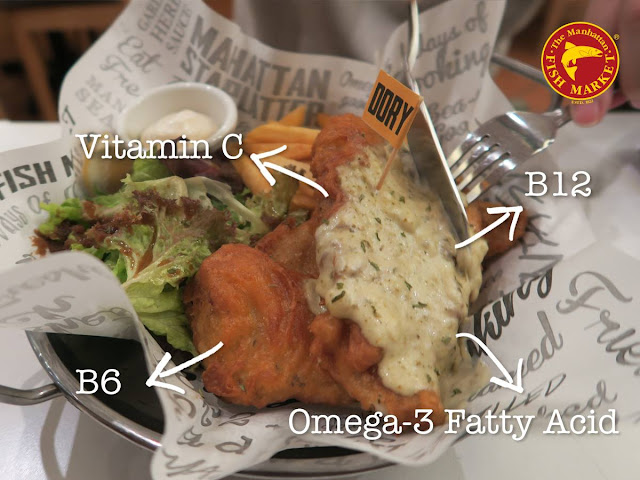Best Deal In Town's RM6.99 Manhattan Fish 'N Chips - Dory is a highly nutritious meal!