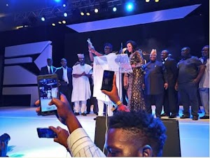 Gov. Fayose Emerges 2017 Silverbird TV Man Of The People Award