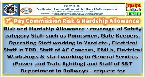 risk-and-hardship-allowance-for-p-way-staff-nfir-letter