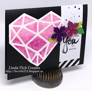 Linda Vich Creates: Paper Pumpkin To The Rescue! Three stunning thank you cards created with the April Paper Pumpkin kit.