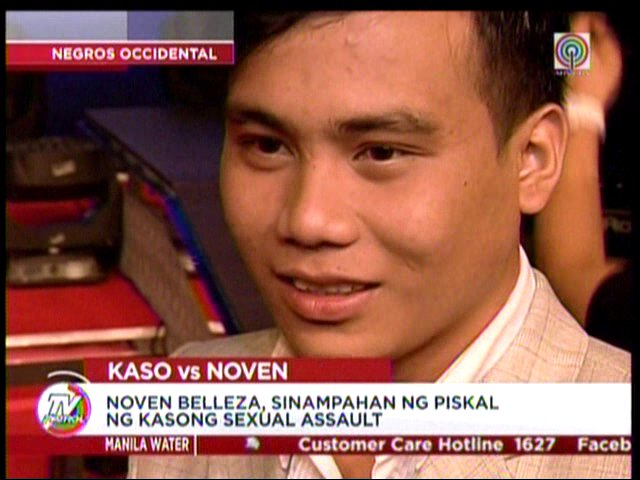 Noven Belleza and ABS-CBN speak up on rape scandal