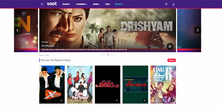 best online bollywood movie streaming sites