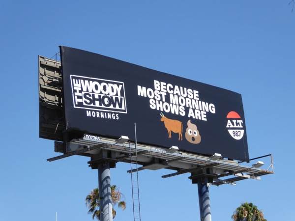 Woody Show most morning shows bull crap radio billboard