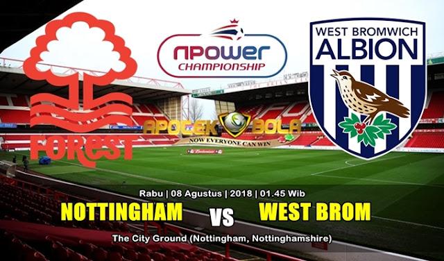 Prediksi Nottingham Forest vs West Bromwich 8 Agustus 2018