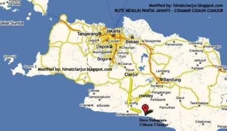 Pantai Jayanti, Cidaun Cianjur - Kabupaten Cianjur