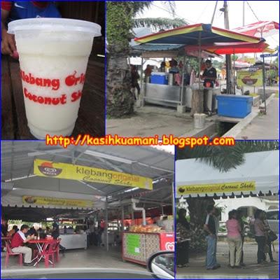 Coconut Shake Pantai Klebang, Melaka