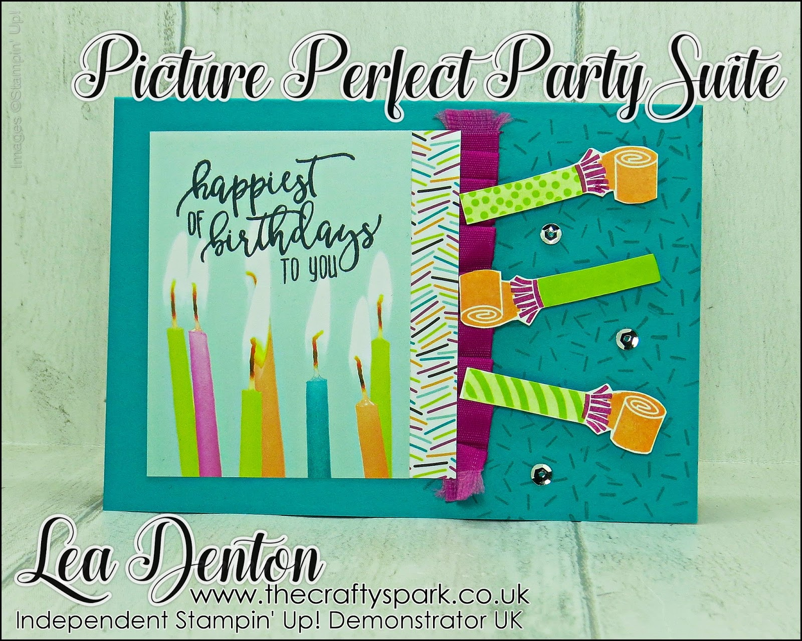 Picture Perfect: Stamping Sunday Blog Hop Picture Perfect Birthday