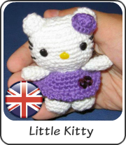 Little Hello Kitty amigurumi