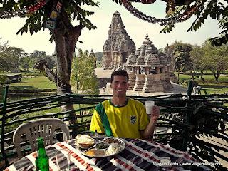 Relato de viagem à Khajuraho, localizada no centro-norte da Índia e famosa pelas suas esculturas.