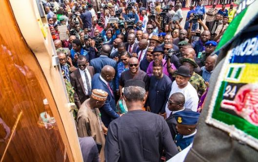 Photos Of Acting President Osinbajo In Rivers State