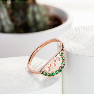 Life Ring- Solid Rose Gold - Daisy Knights