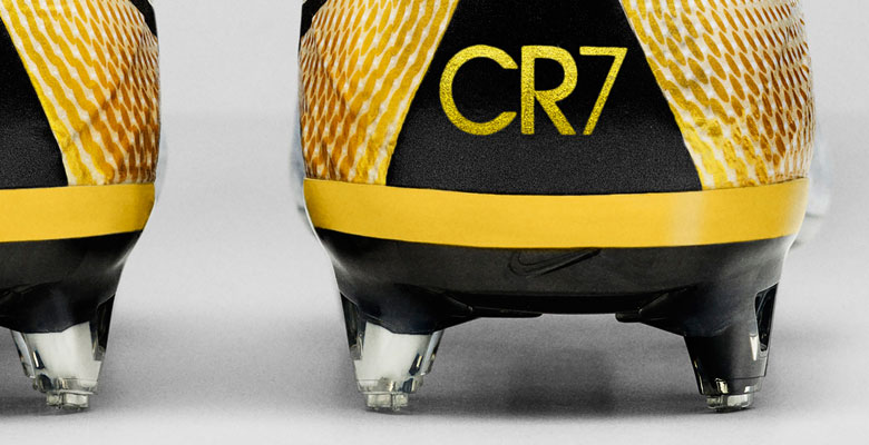 375bb68ab8 The Nike Mercurial Superfly CR7 324K Gold Soccer Cleats celebrate Cristiano  Ronaldo s ascension as his club s all-time leading scorer with a stunning  white ...