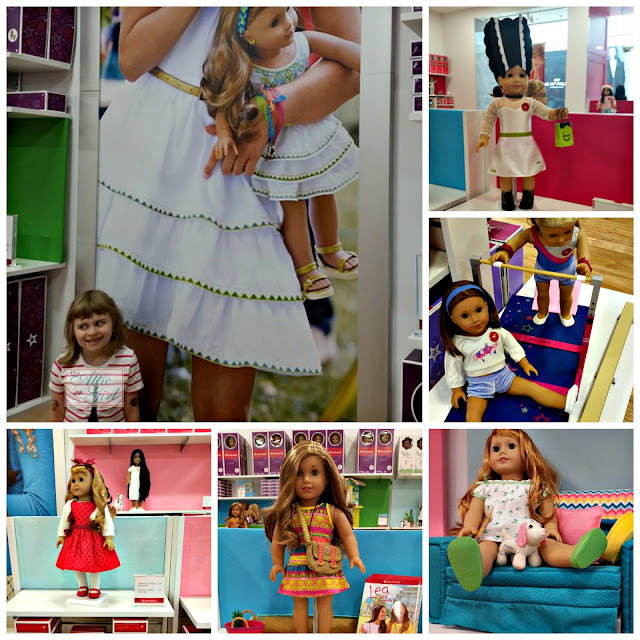 American Girl dolls, Girl of the Year, Beforever, doll accessories