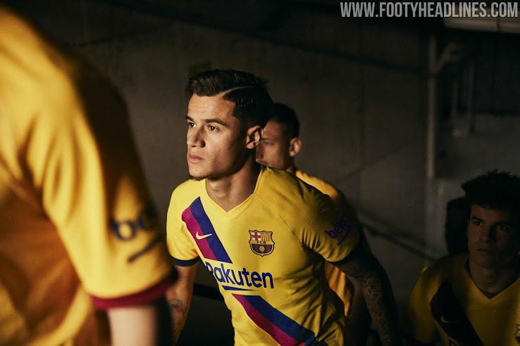 quality design e7d63 6ca26 Barcelona 19-20 Away Kit Revealed - Footy Headlines