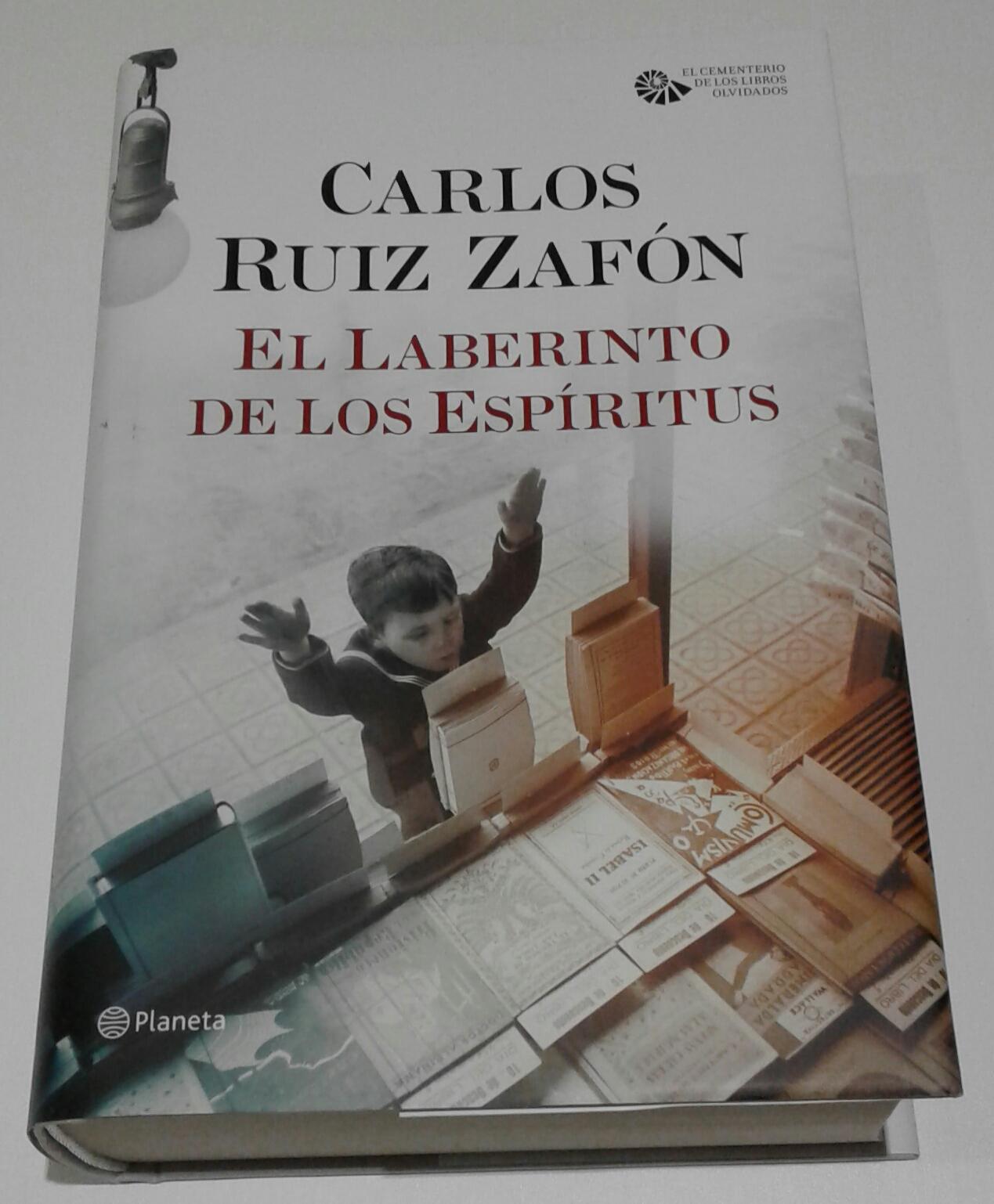 Blog de la Lectora Errante : El Laberinto de los Espíritus - Carlos ...