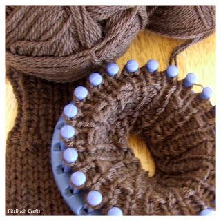 Fitzbirch Crafts Loom Knitting