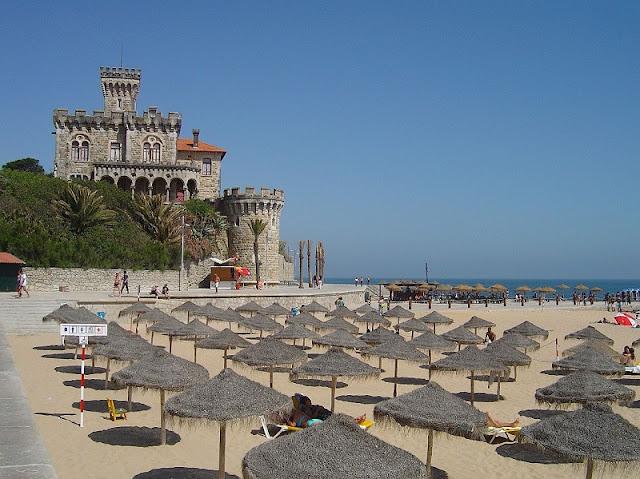 Praia do Tamariz em Estoril