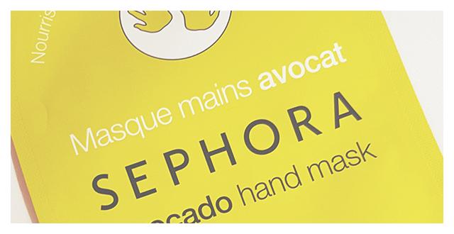 Sephora maschera mani avocado