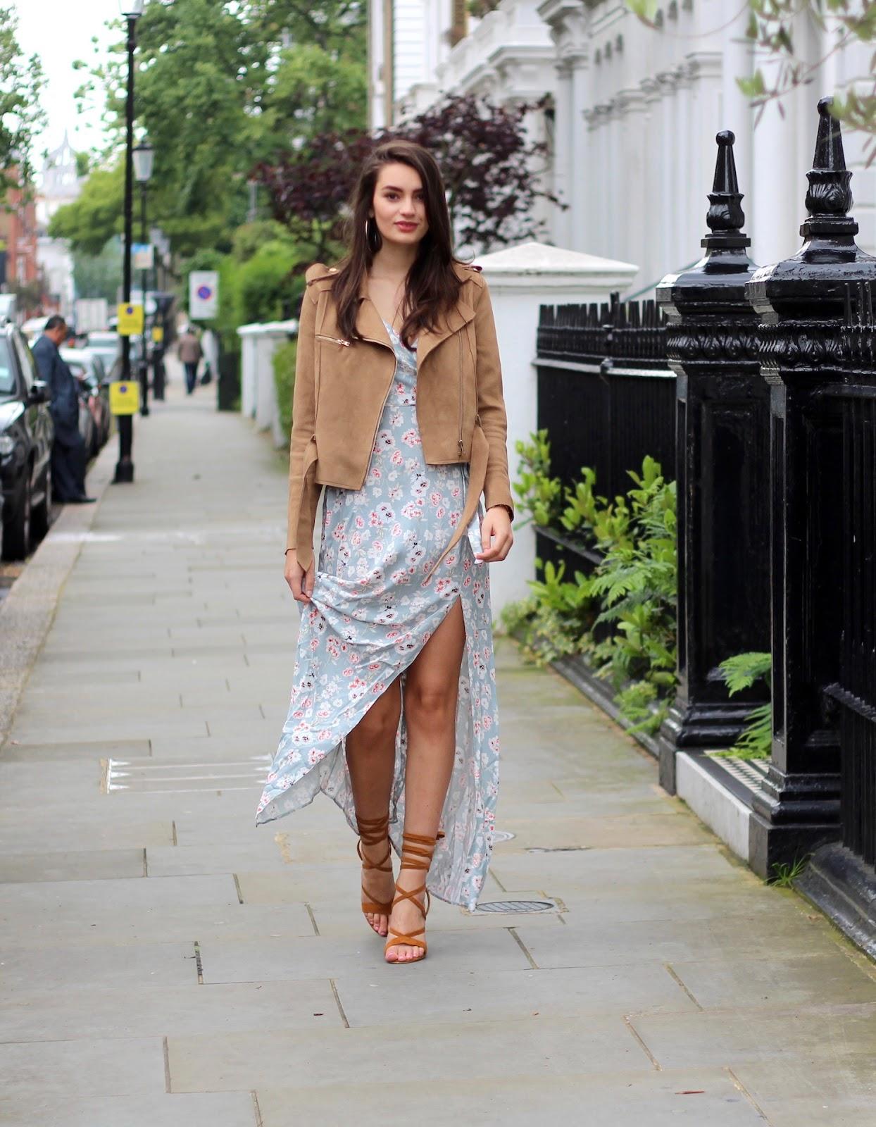 summer style maxi dress