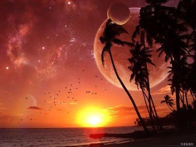 oleh Tangkai Tak Berdaun pada 5 Januari 2012 pukul 18:31  Sengkala senja hadir menyapa Merona jingga menghiasi panorama alam Bertautlah indah biru lautku Ratap riang tak terhingga  Terpandang senyum berpancar Dan nyiur melambai di tepian Teriring lentungan pawana sepoy Beralunan syahdu kidungkan kumala Selaras dengan biru lautku  Kian perlahan kuterbuai lena Berguncang decak asmara Teresap indah warna warni Menggenangkan kerlip jingga senja ini  Gema ku bersenandung cinta Bersorak putih untaikan cerita Meluapkan sabda butiran tasbih Syukuri anugrah dari illahi  Ku berharap dalam dada Semoga jingga senja hari ini Membawa damai rasa jiwa Hingga sampai di penghujung masa Tapaki alur di dunia hidup ini   JINGGA SENJA