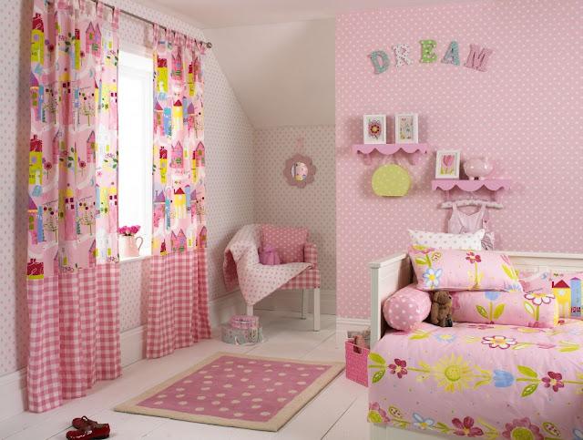 rideaux chambre jeune fille - chambre de fille