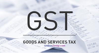 किसपे कितना Tax - GST