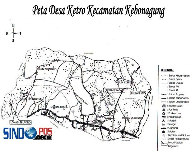Profil Desa & Kelurahan, Desa Ketro Kecamatan Kebonagung Kabupaten Pacitan