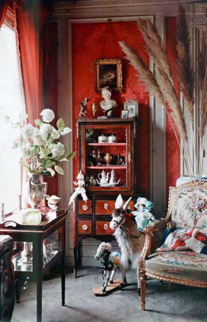 Early 1900 Home Design: Vintage Everyday: Rare Color Photography Of Early 1900s Paris