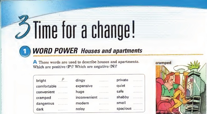 Interchange Level 2 - Unit 3 - Time for a change!   English