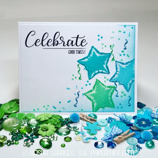 Sunny Studio Stamps: Bold Balloons Customer Card Share by Keisha Charles