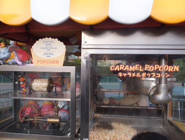 Tokyo Disneyland Popcorn