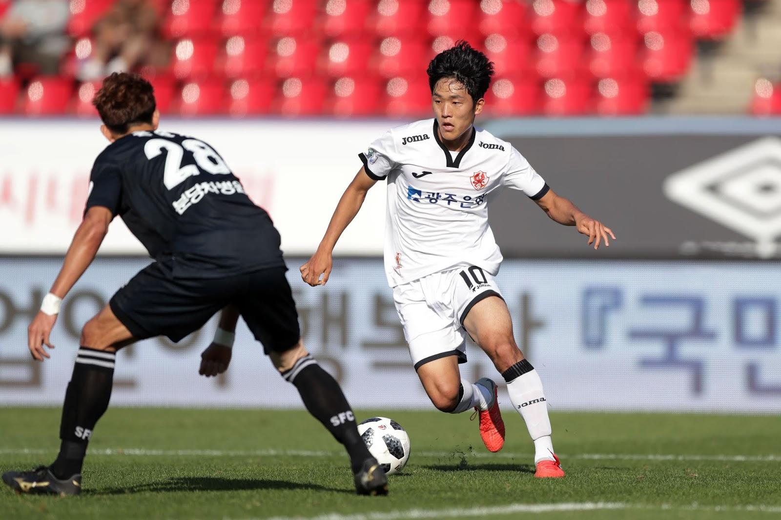 Preview: Busan IPark vs Gwangju FC K League 2 Na Sang-ho