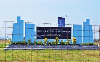 Warga Banyuwangi bangga dengan Bandara Blimbingsari.