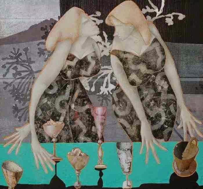Итальянский художник. Giovanni Maranghi
