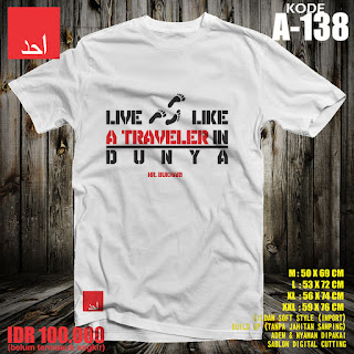 Live Like A Traveler In Dunya | Kaos Muslim