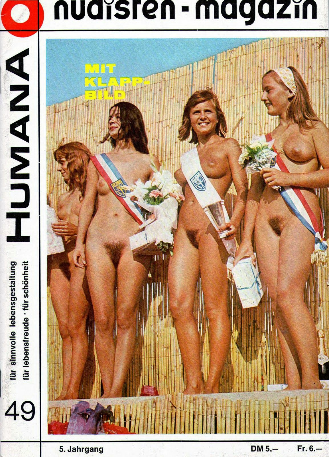 European nudist pageants