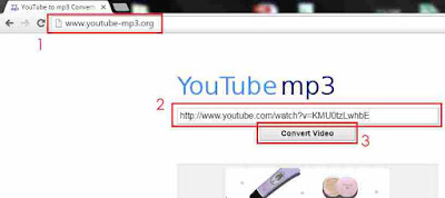 Convert video menjadi MP3