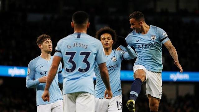 Hasil Liga Inggris: City Taklukkan Cardiff 2-0