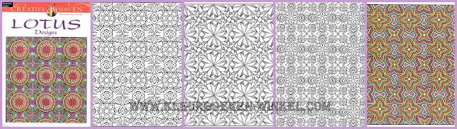 kleurboek lotus designs