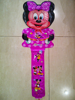 Balon Foil Character Tongkat Besar Minnie Mouse
