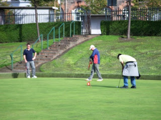 Putting Green at Powderhall Bowling Green, St Mark's Park, Edinburgh
