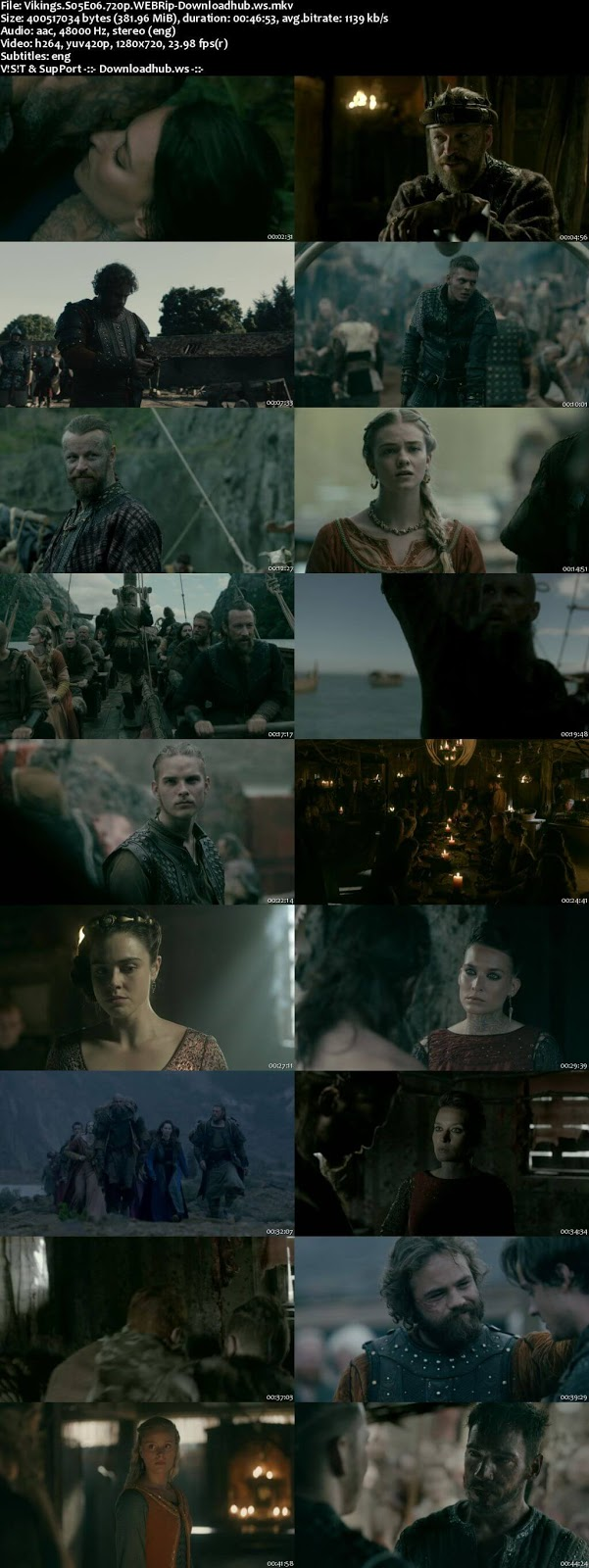 Vikings S05E06 380MB WEBRip 720p ESubs