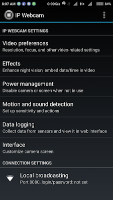 How to use your android or ios phone as a security camera