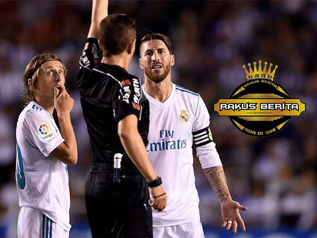 Madrid Siap Banding Kartu Kuning Kedua Ramos