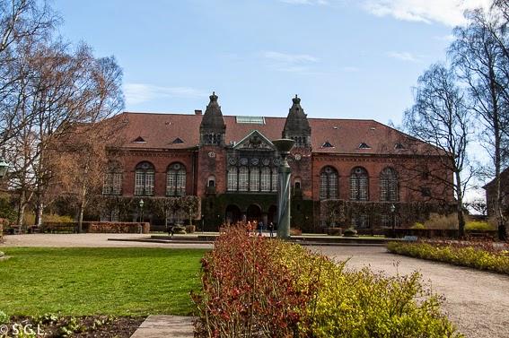 Fotografia de la Antigua biblioteca real de Copenhague